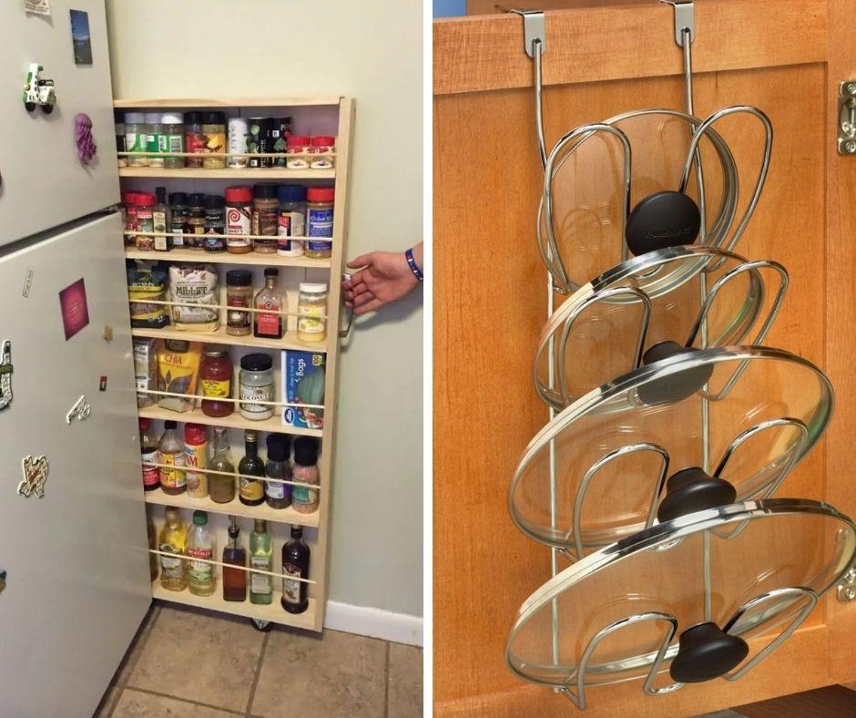 14 clevere Möglichkeiten, sich praktisch zu organisieren in einer kleinen Wohnung