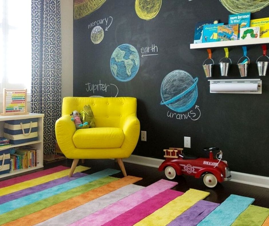 How to create a playroom in a small apartment
