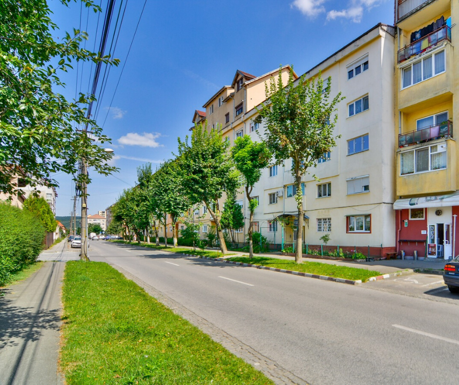 The Vasile Aaron neighborhood – an area with many apartments on the real estate market of Sibiu