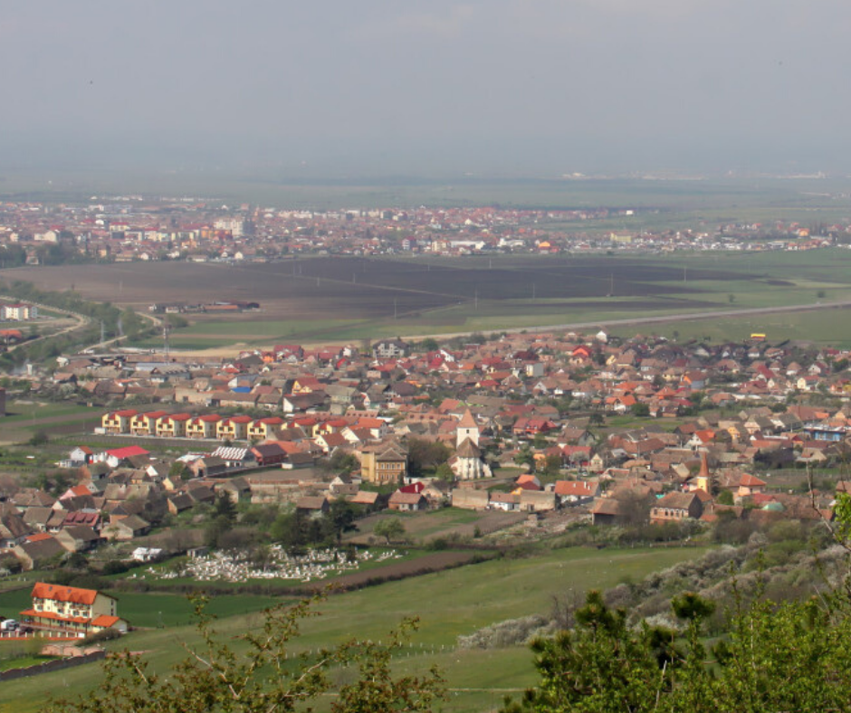 Guşteriţa. Village, locality, neighborhood