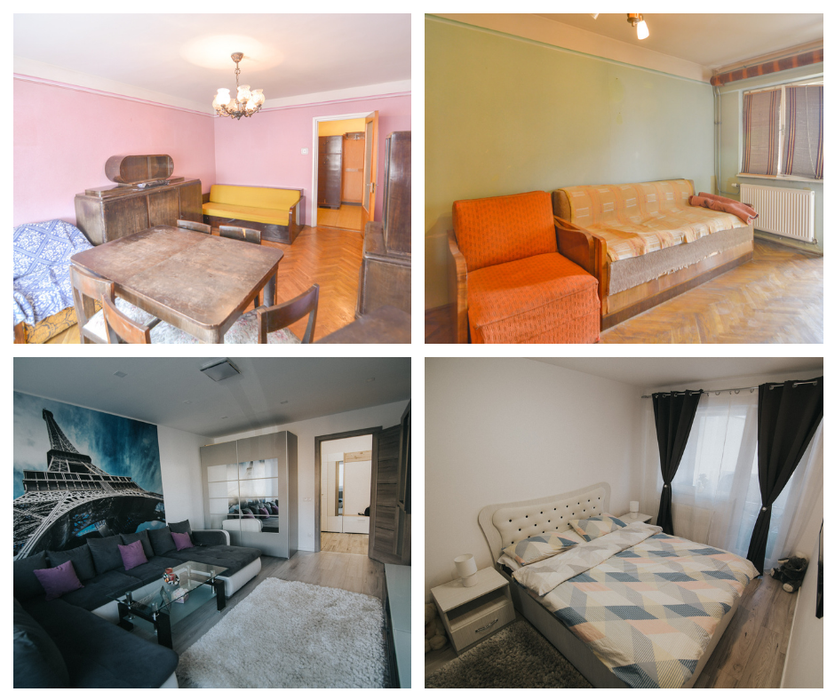 Yesterday to leave, today to buy. Completely renovated apartment on Mihai Viteazu