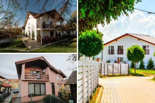 3 properties for 3 different budgets in 3 distinct locations