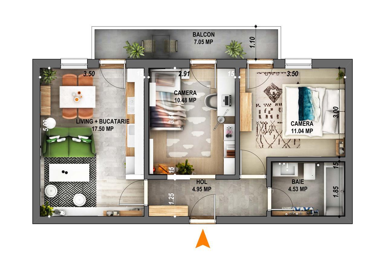 Ideal Residence - Cartier Ciresica - IMOBILIARE SIBIU