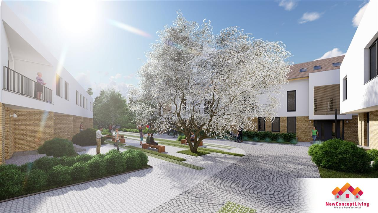 Ansamblul Rezidential de apartamente la vilă Calea Cisnădiei