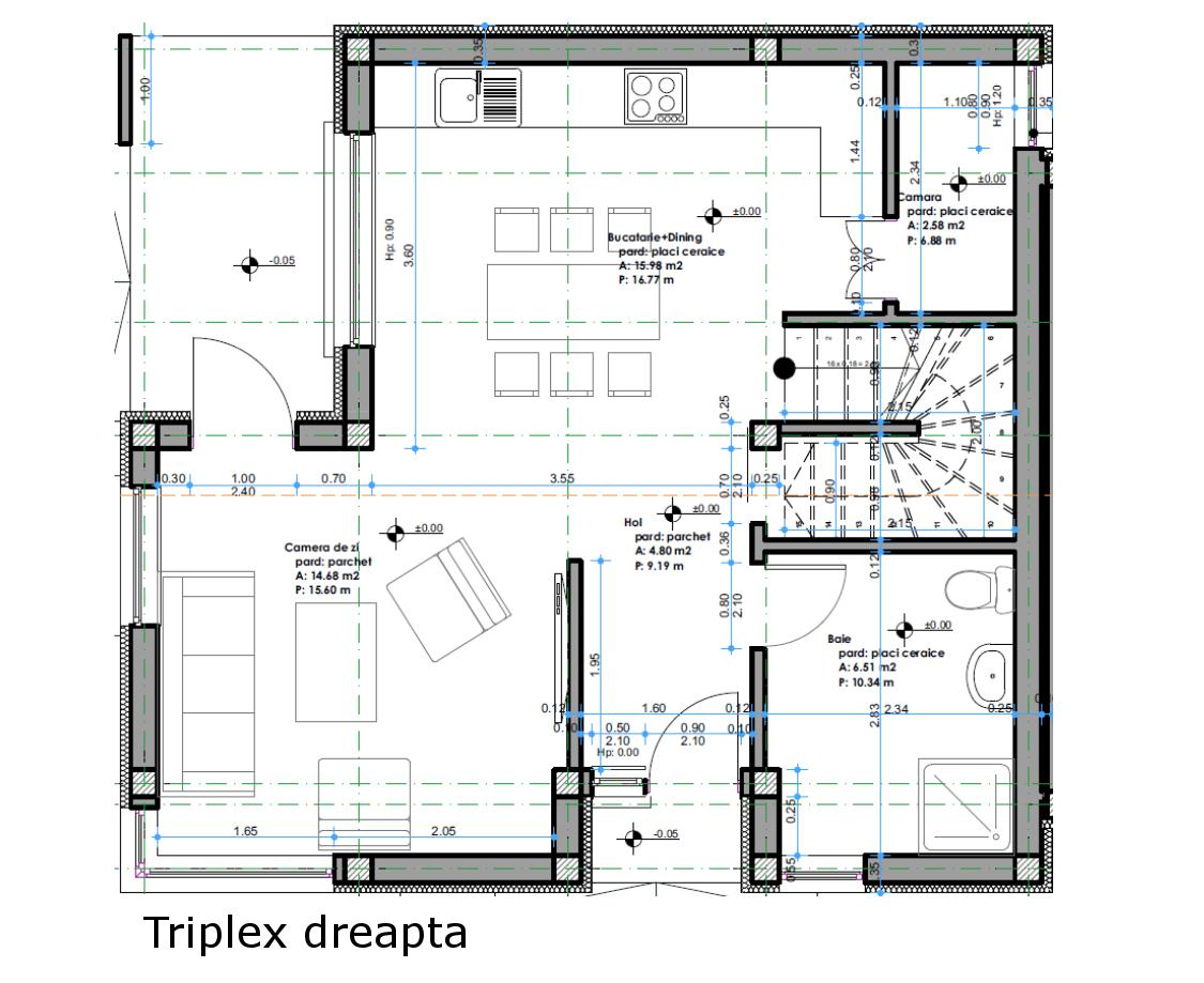 Impact House Residential Complex - Houses Triplex Selimbar - SIBIU REAL ESTATE