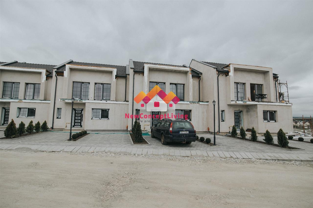 The ensemble of houses built by Best House - Imobiliare Sibiu