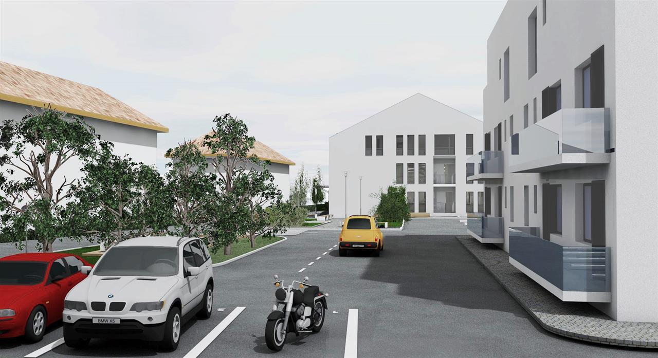Urban Residence Sibiu - Apartamente spatioase pe Malul Cibinului