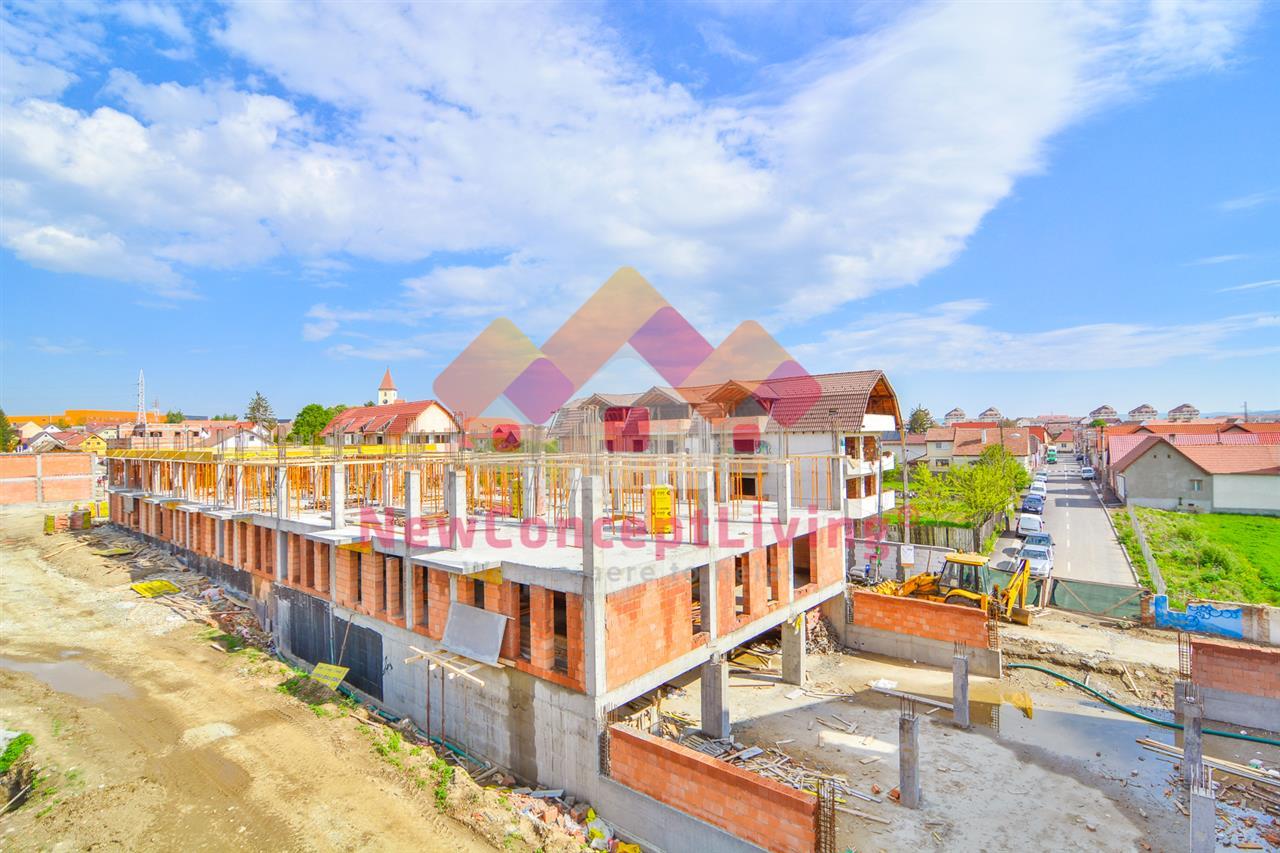 Ansamblul Rezidential Urban Sibiu - Apartamente spatioase pe Malul Cibinului