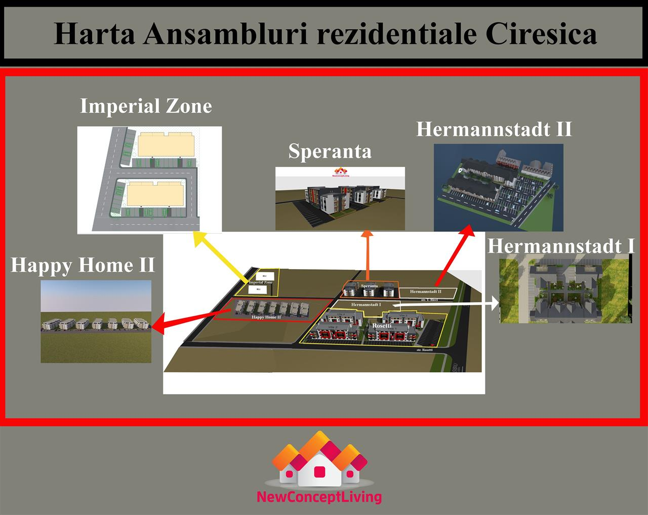 Ansamblul rezidential Speranta -IMOBILIARE SIBIU