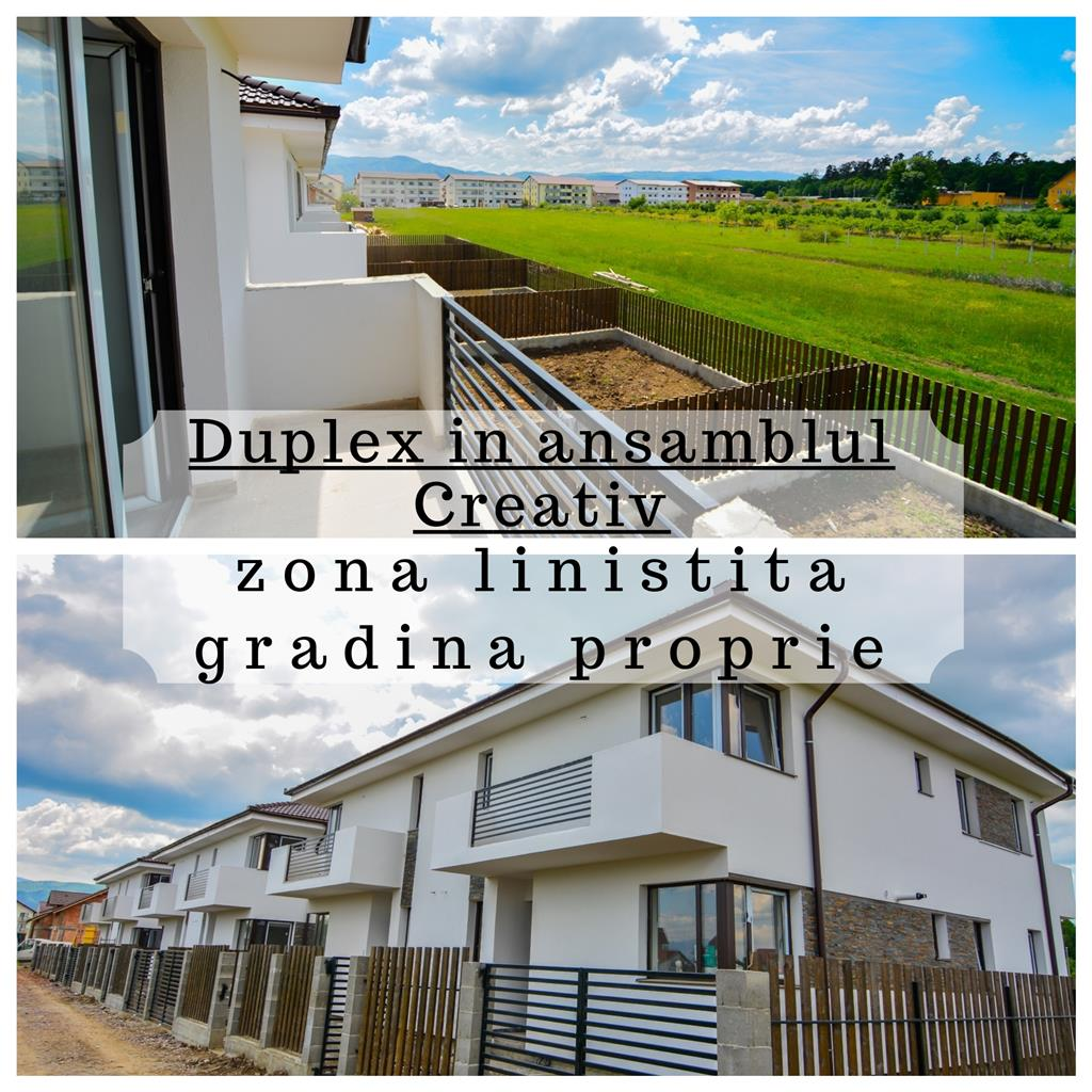 Residential Complex - Creative - Duplex Houses - Sibiu Real Estate