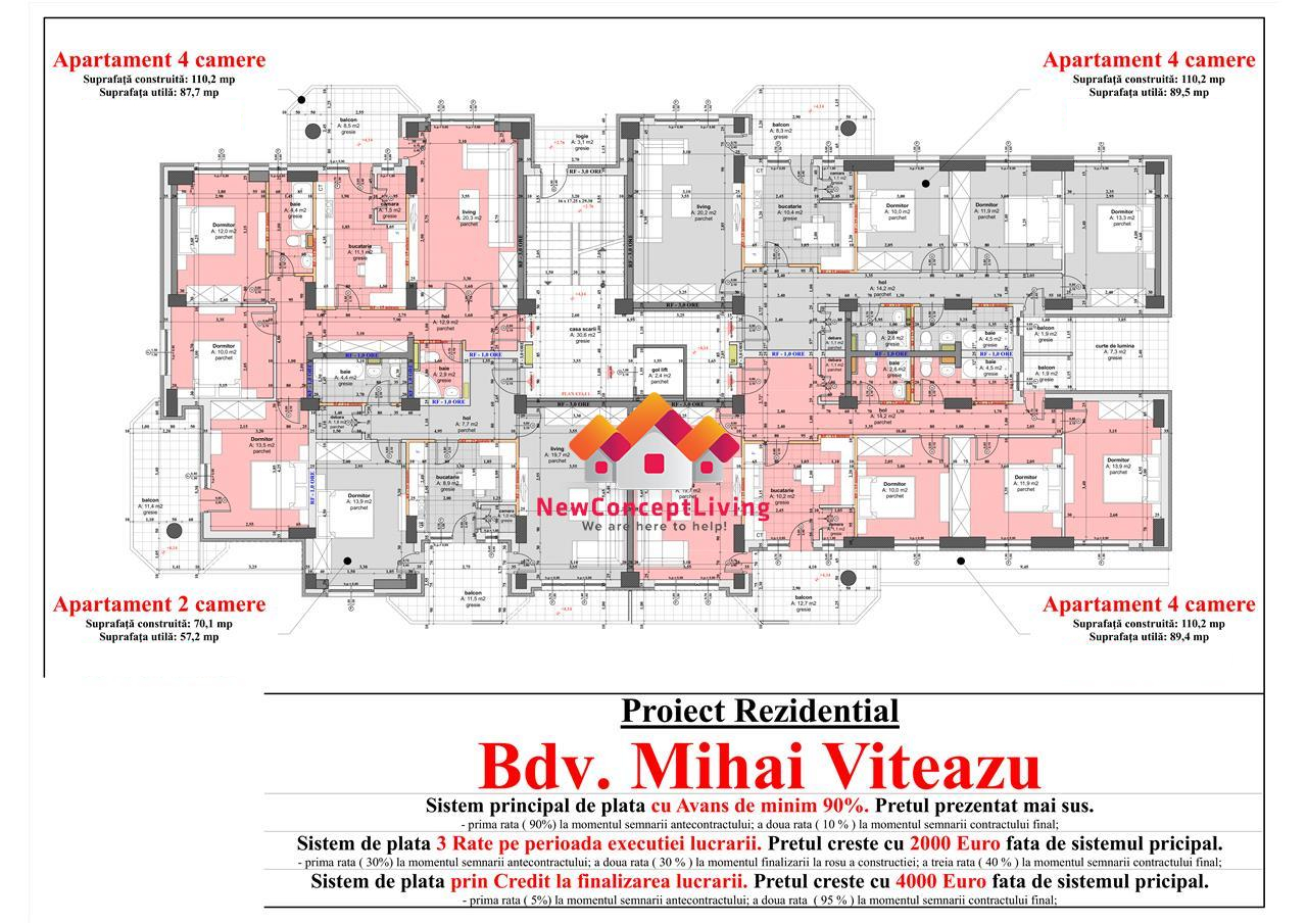 Ansamblul Rezidential - Mihai Viteazu Tower - IMOBILIARE SIBIU