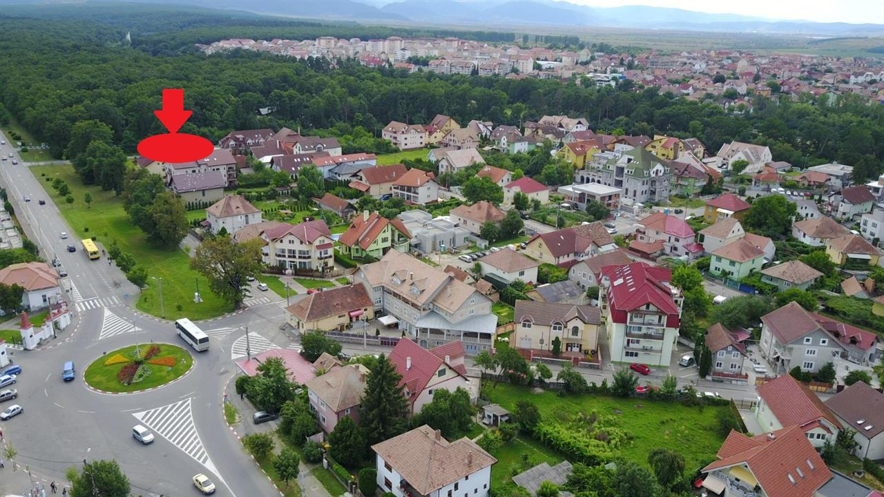 Green Diamond Residence - Calea Dumbravii area, forest clearing - Real Estate Sibiu