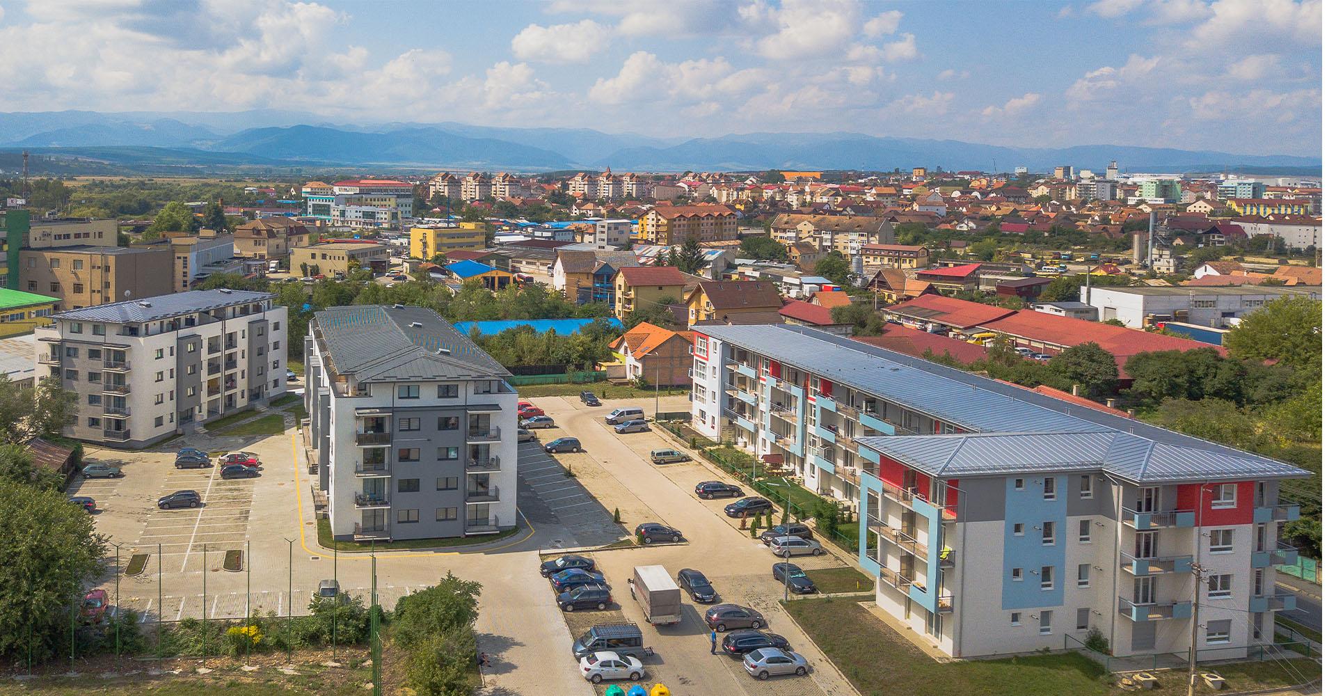 Insibio Residence, Sibiu (90 Wohnungen)