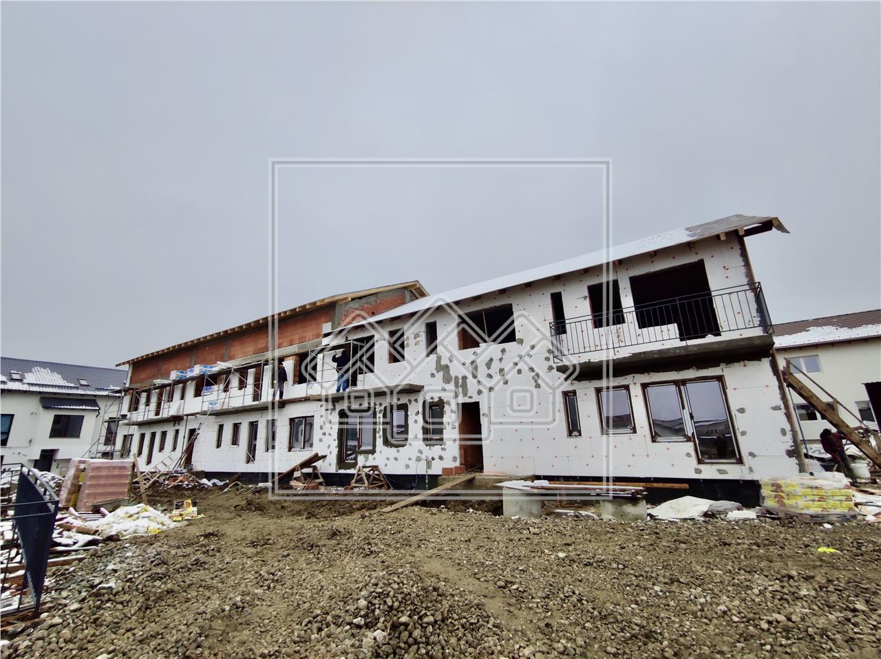 Das Ensemble von Häusern baute Calea Cisnadiei - Immobilien Sibiu