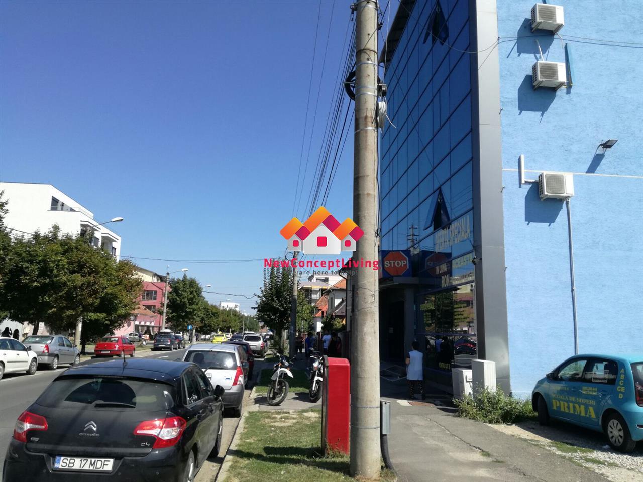 Cladire pentru birouri de inchiriat in Sibiu, zona Calea  Dumbravii