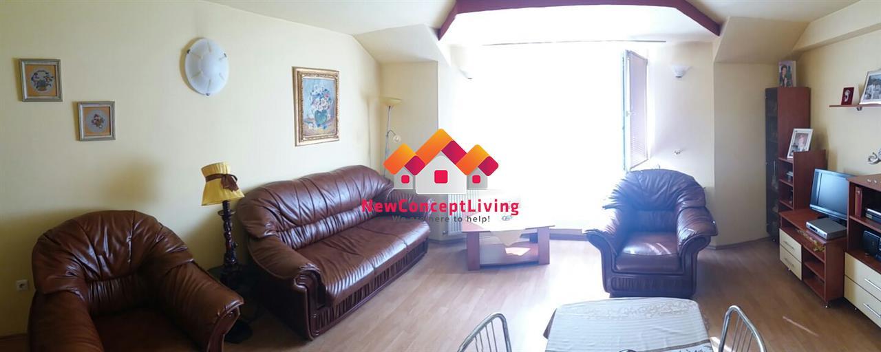 Apartament de vanzare in Sibiu-4 camere-intabulat-mobilat si utilat