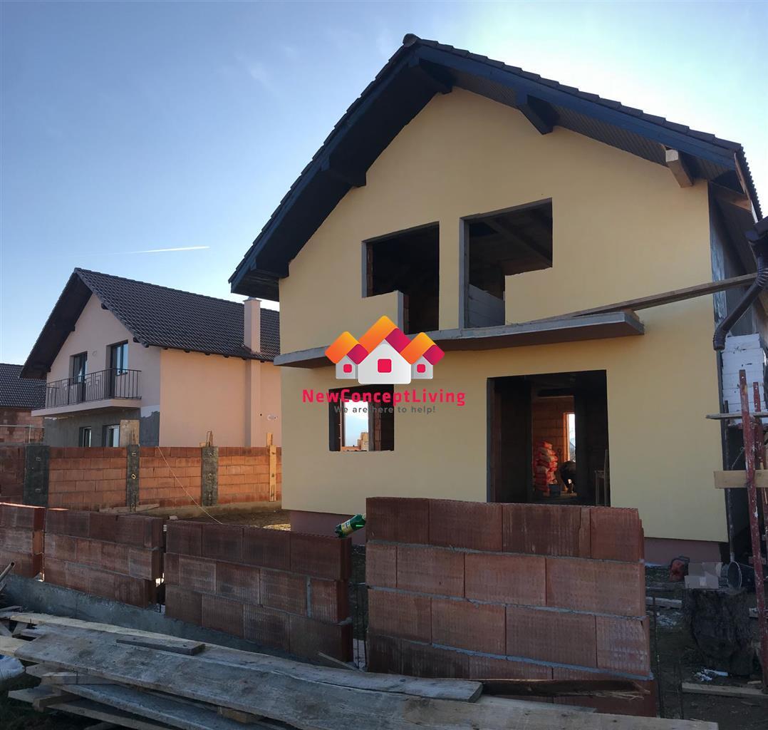 Casa de vanzare in Sibiu - Calea Cisnadiei + teren 190 mp