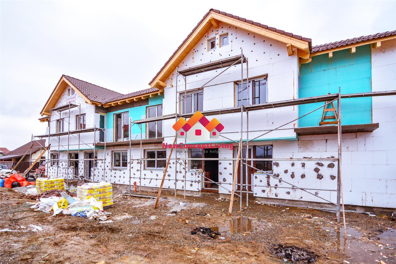 Casa de vanzare in Sibiu cu 4 camere-2bai-zona linistita-strada pavata