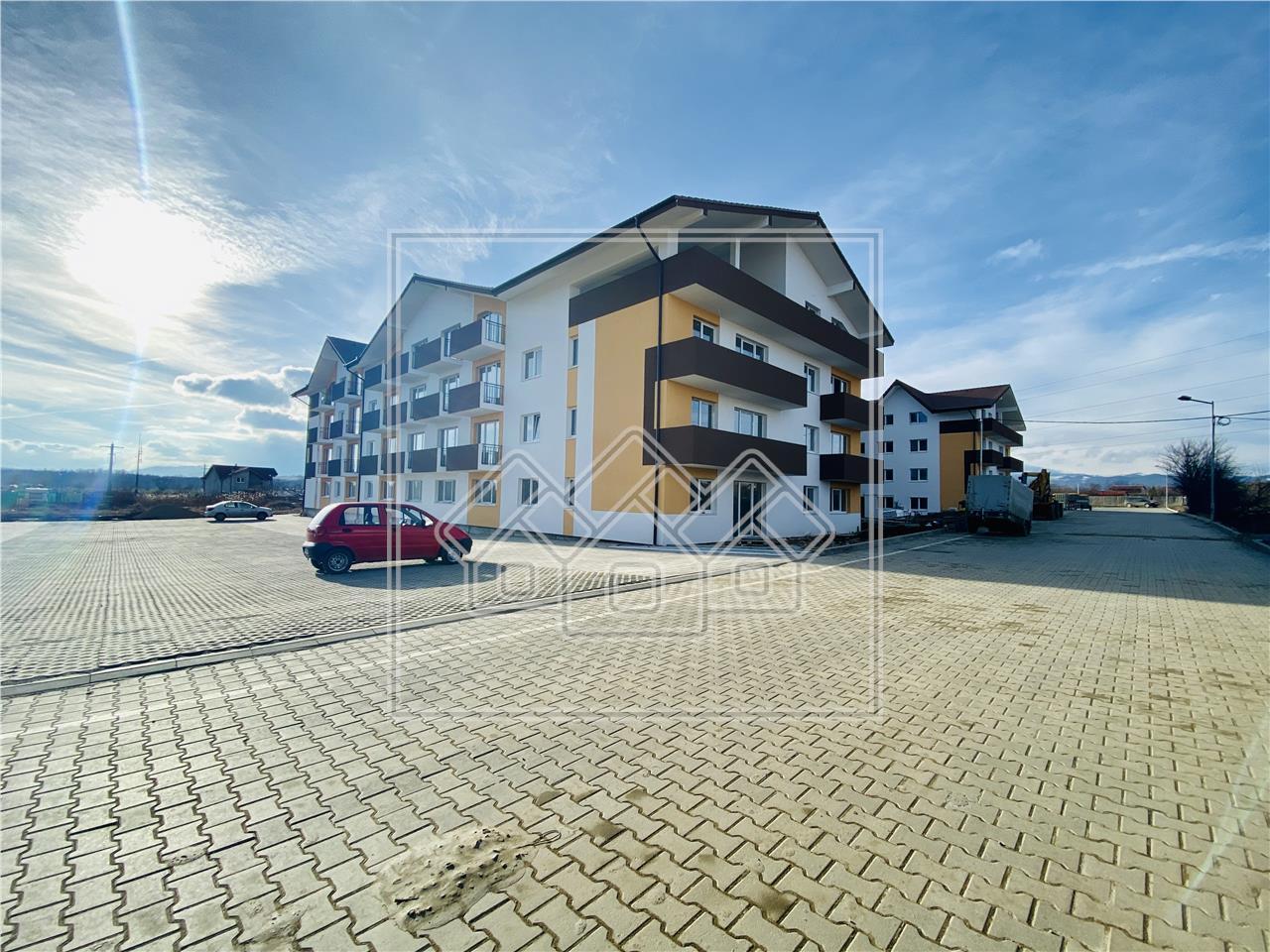 Spatiu comercial de inchiriat in Sibiu - 3 incaperi - 60 mp utili