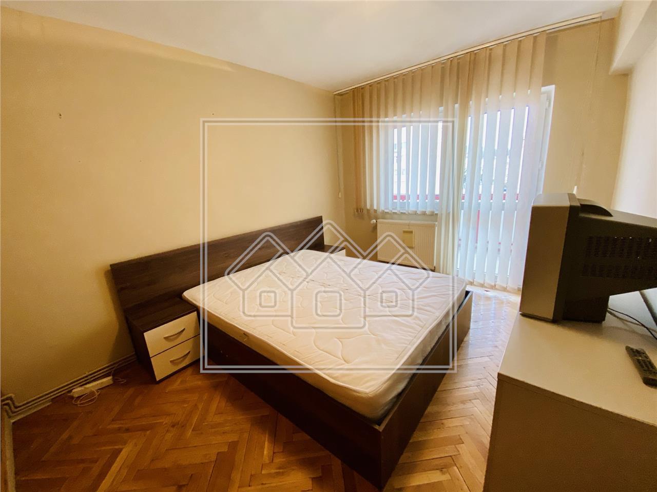 Apartament de inchiriat in Sibiu - etaj intermediar - 70 mp utili