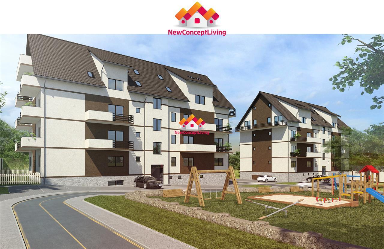 Apartament 3 camere de vanzare Sibiu  -pe doua niveluri