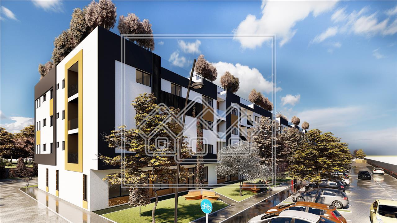 Apartament de vanzare in Sibiu - Etaj 1 - Balcon - Zona Piata Cluj