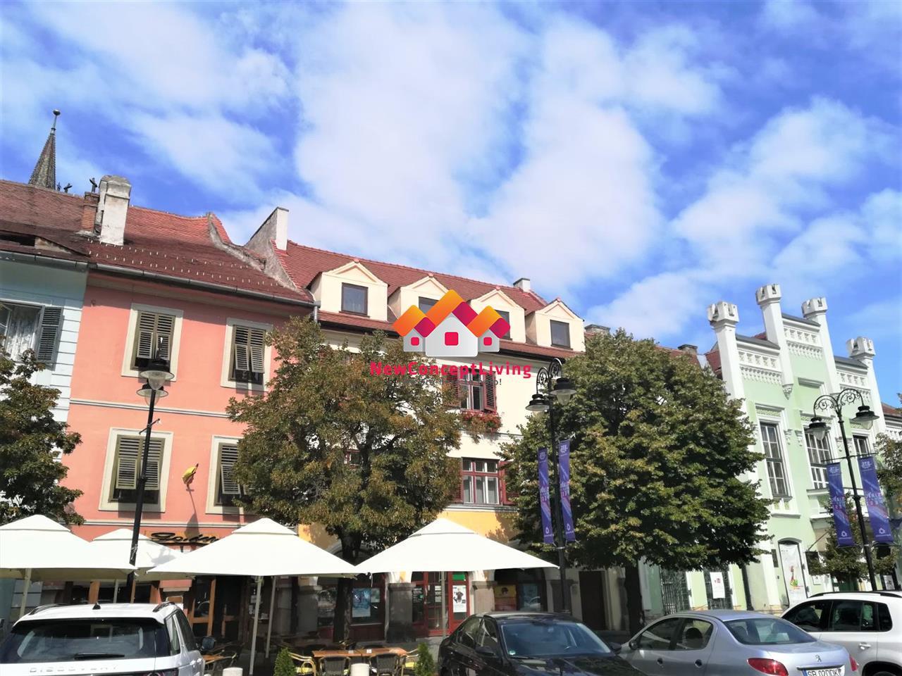 Spatiu comercial de inchiriat in Sibiu, Piata Mica - 395 mp utili