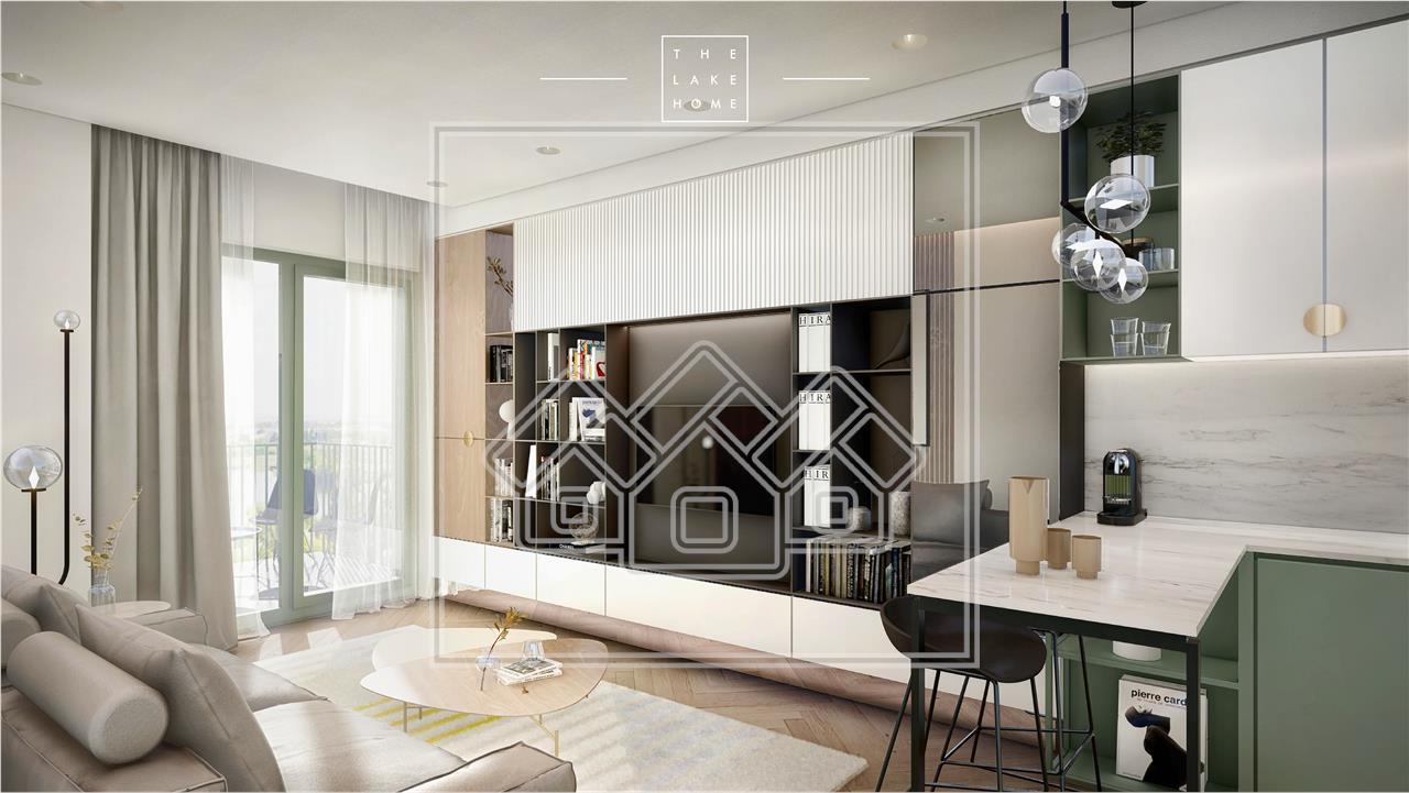 Apartament de vanzare in Sibiu - 5 camere, terasa de 45 mp