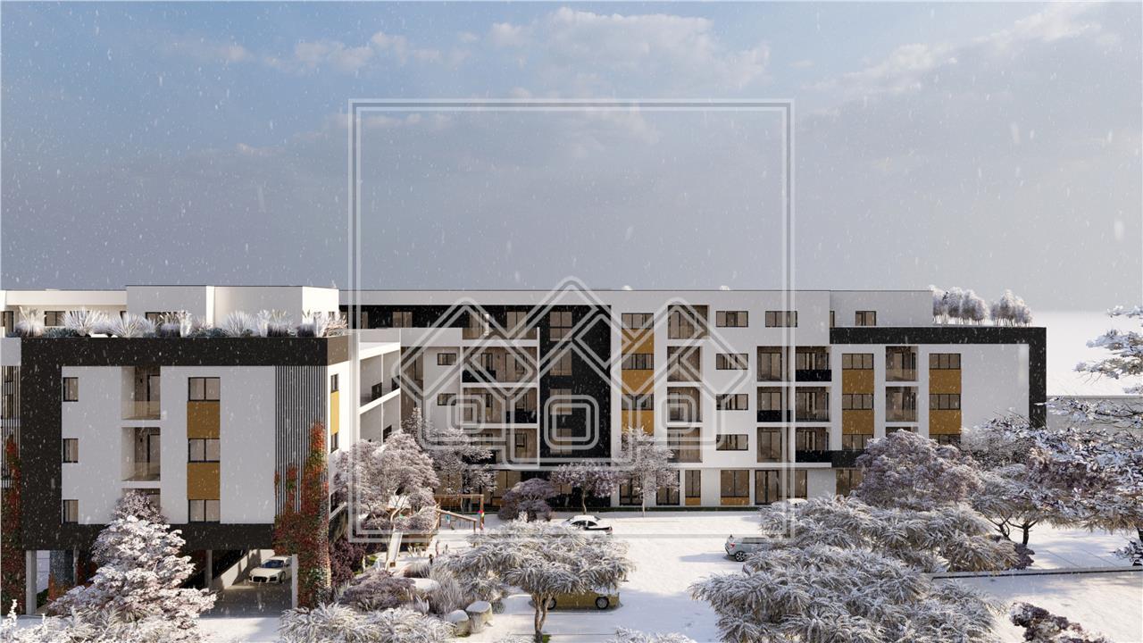 Apartament de vanzare in Sibiu cu Balcon de 14mp - Zona Piata Cluj