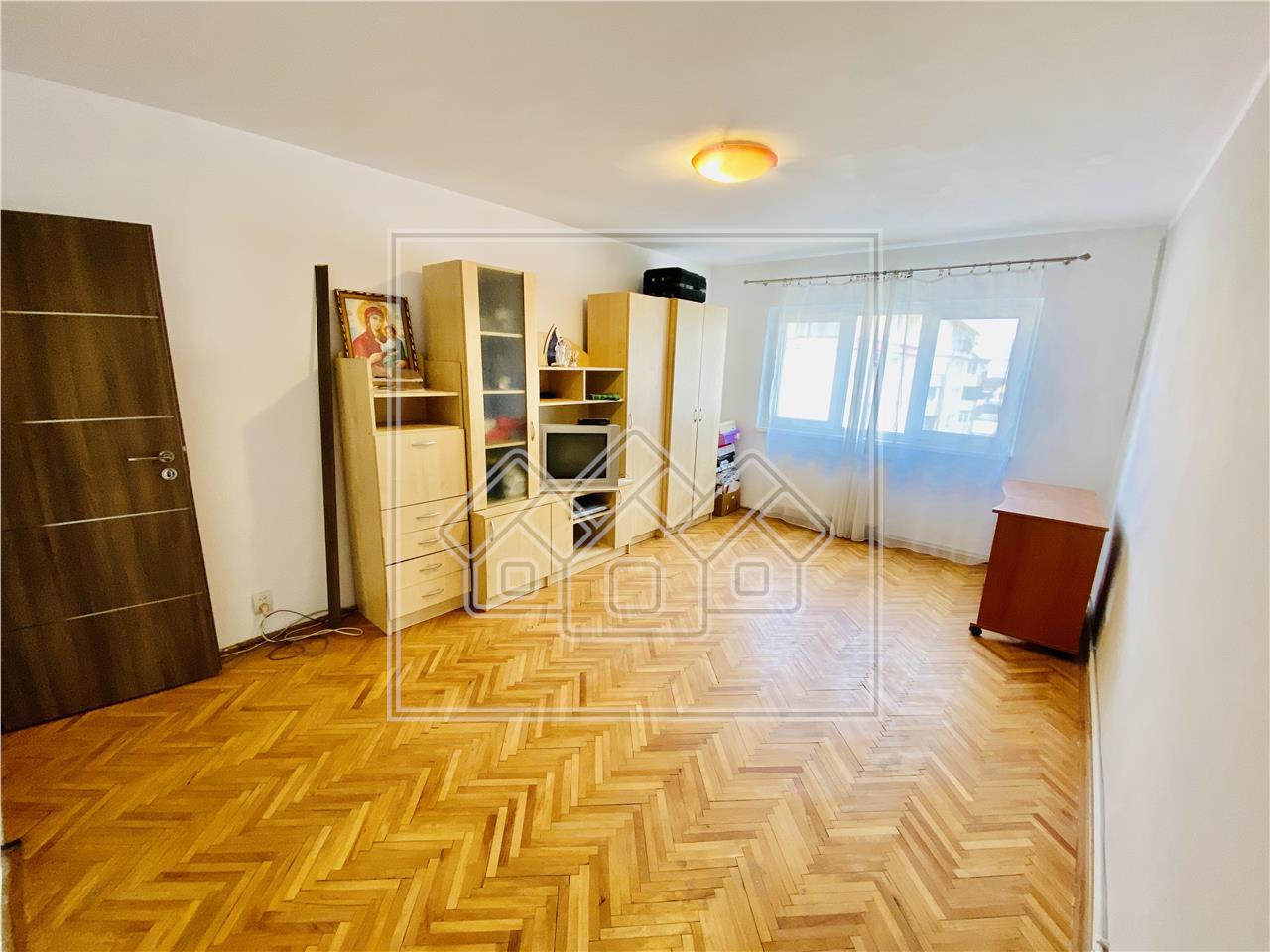 Apartament de vanzare in Sibiu - 2 camere cu balcon - Turnisor
