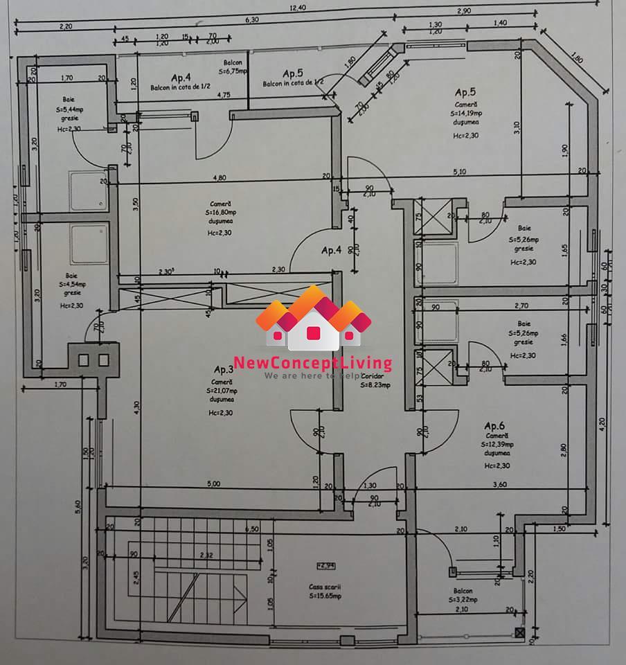 Vila de vanzare Sibiu- 9 garsoniere si 1 apartament