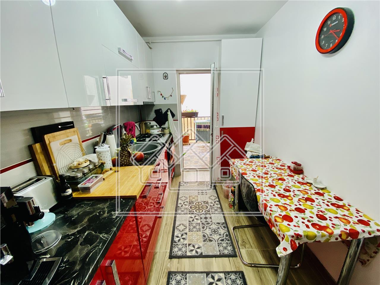 Wohnung zum Verkauf in Sibiu -3 Zimmer mit gro?em Balkon- C. Cisnadiei