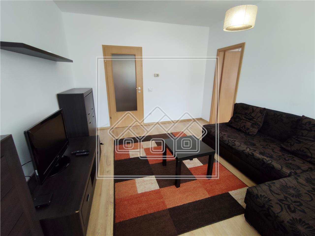 Apartament 3 camere de inchiriat in Sibiu - zona Rahovei - bloc recent