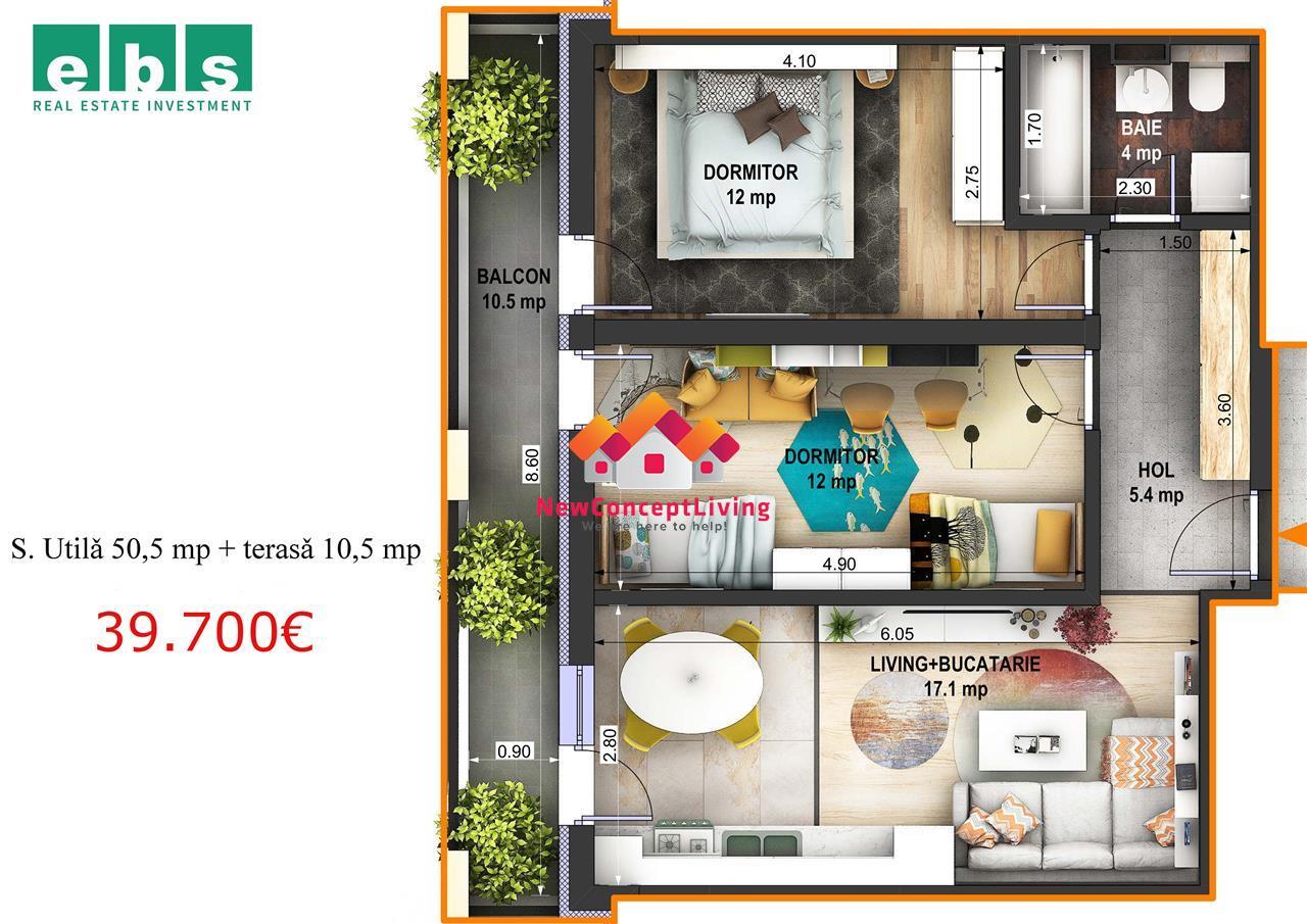 Apartament de vanzare in Sibiu cu 3 camere -FamilyI-Alegerea famililor