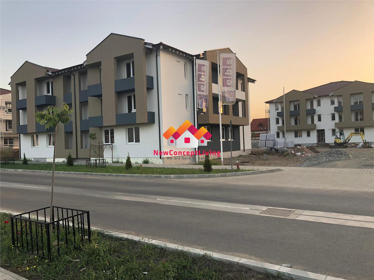 Apartment for sale in Sibiu - 2 separate rooms - Family I