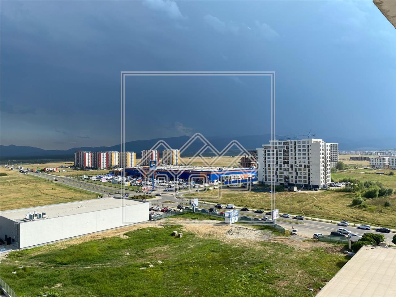 Penthouse de vanzare in Sibiu - 88.3 mp utili + terasa 65 mp