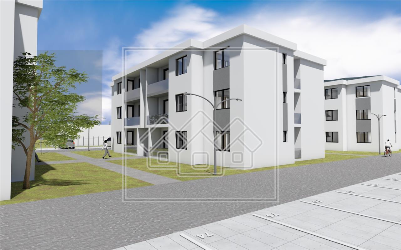 Apartament de vanzare in Sibiu - Selimbar - ansamblu nou - etaj 1