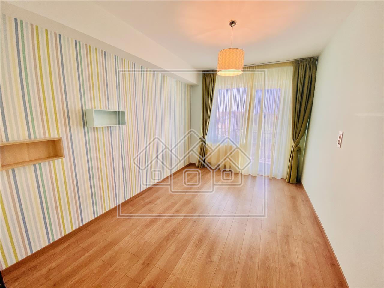 Apartament de inchiriat in Sibiu - 3 camere si 2 bai - Calea Dumbravii