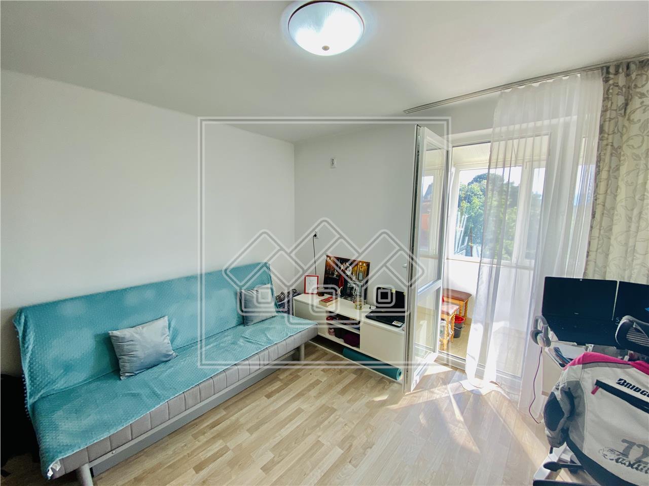Apartament de vanzare in Sibiu - 2 camere cu balcon - B-dul Victoriei