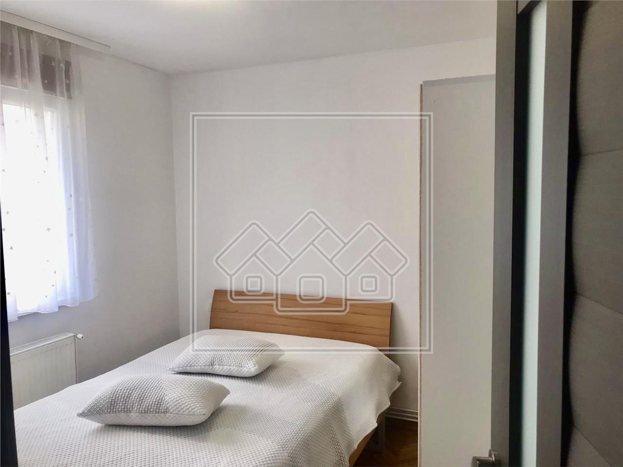 Apartament 2 camere de inchiriat in Sibiu - cu pivnita - zona Rahova