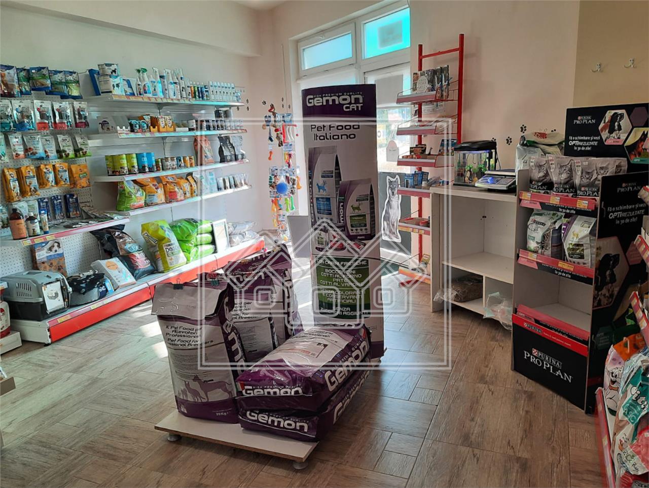 Spatiu comercial de vanzare in Sibiu - incalzire in pardoseala
