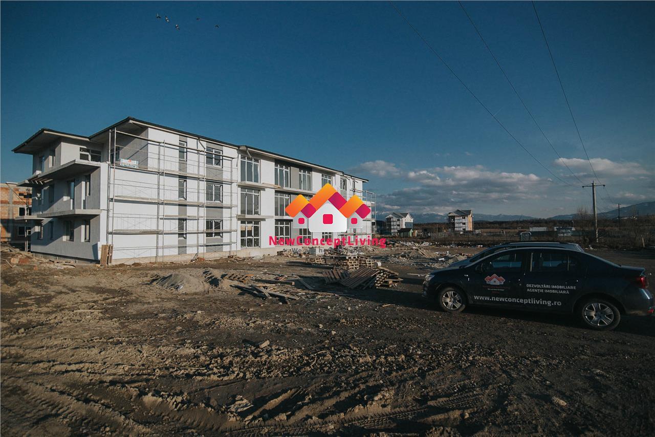 Apartament vanzare Sibiu- 3 camere+ balcon 7.2 mp