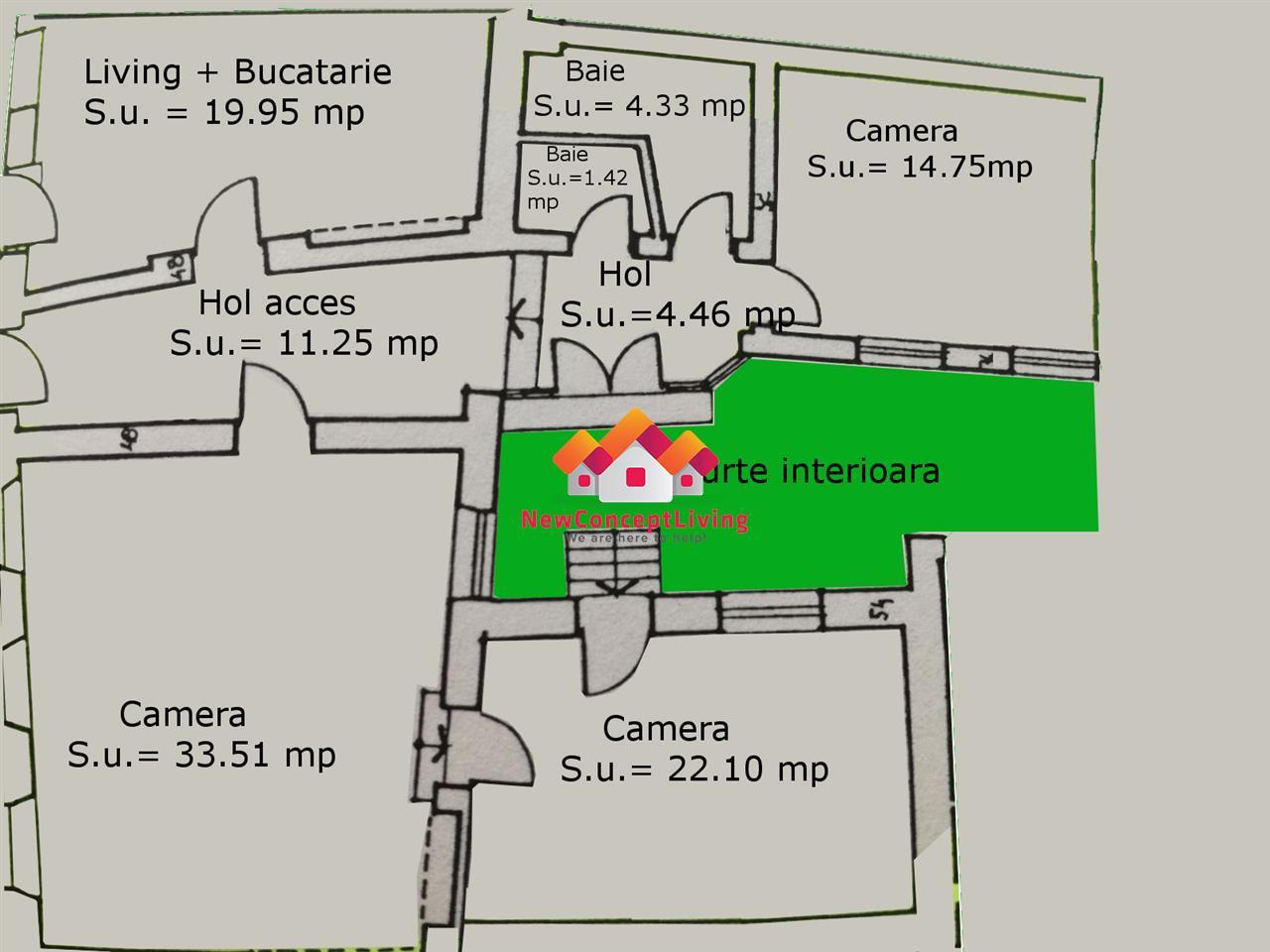 Casa de vanzare in Sibiu - zona ULTRACENTRALA -reper Teatrul Gong
