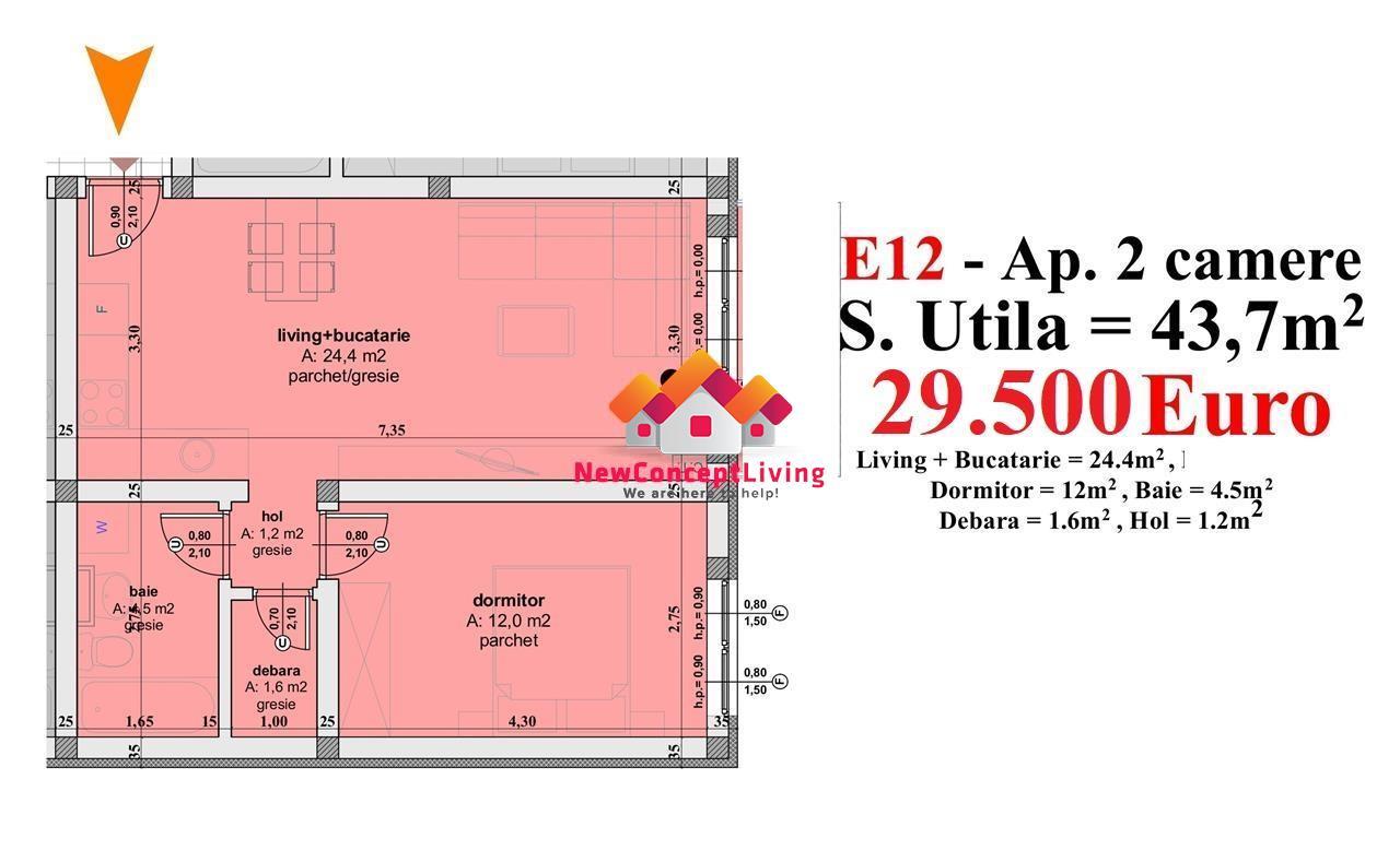 Apartament vanzare Sibiu -2 camere – cele mai bune preturi