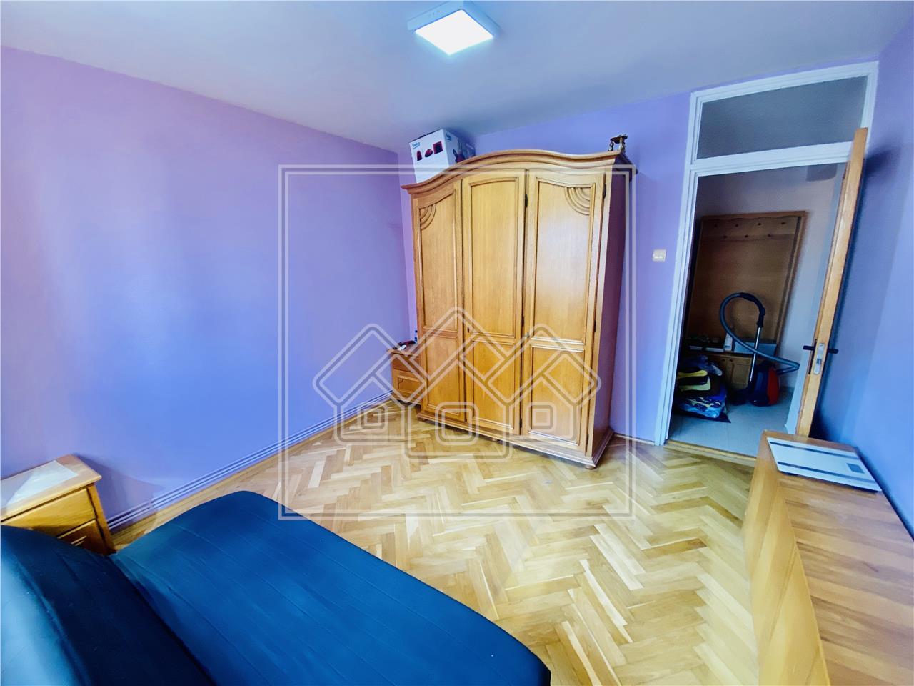 Apartament de vanzare in Sibiu - 2 camere si balcon - Zona Rahovei