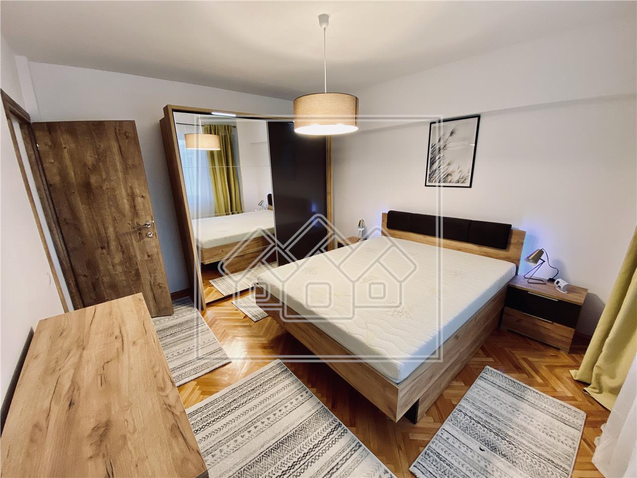 Apartament de inchiriat in Sibiu - 3 camere - recent renovat-M.Viteazu