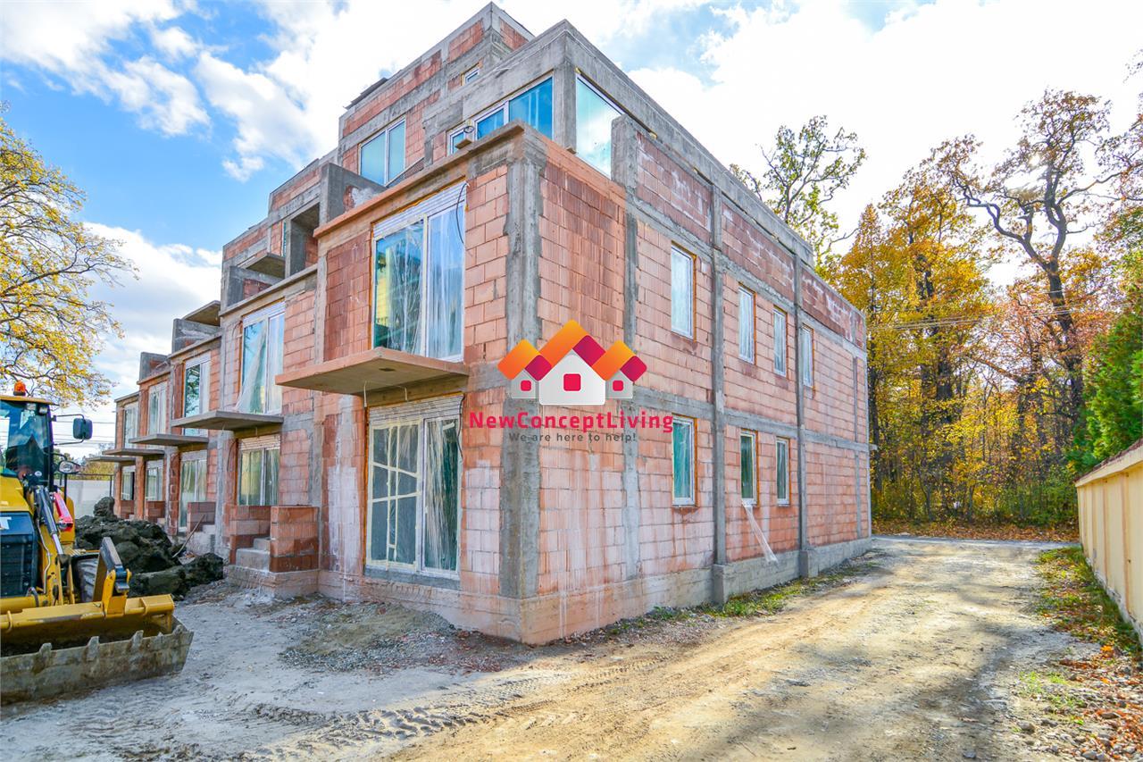 Casa de vanzare in Sibiu, de lux - Calea Dumbravii, curte libera 185mp