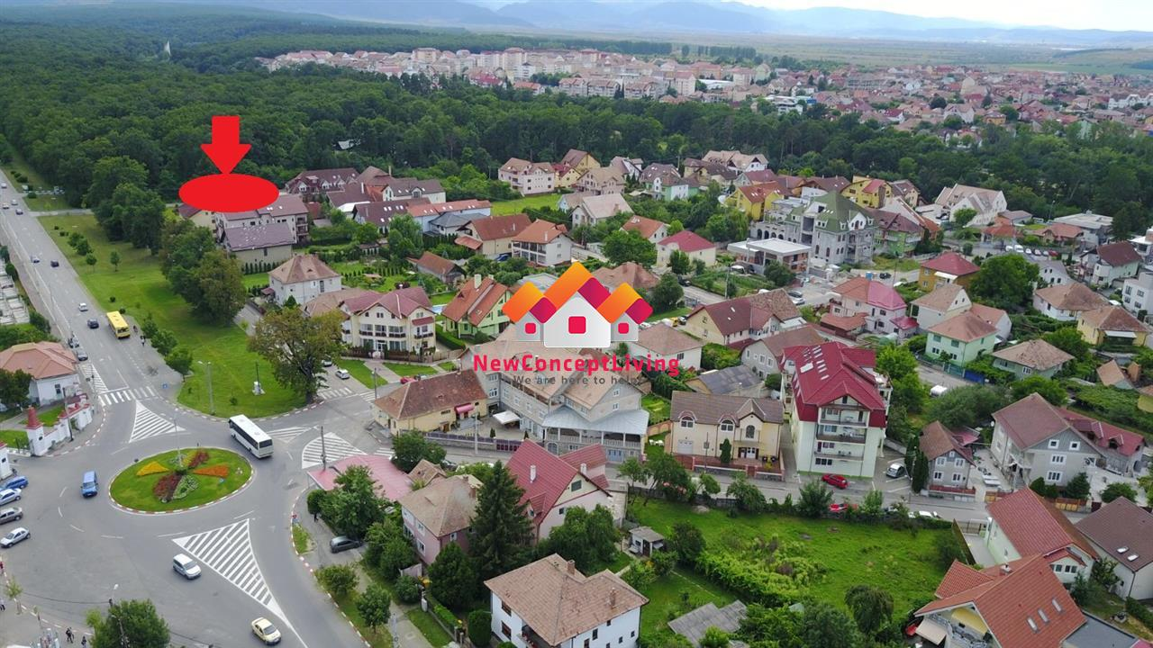 Casa de vanzare in Sibiu, de lux - Calea Dumbravii, curte libera 240mp