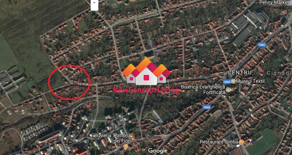 Casa de vanzare in Sibiu - Cisnadie, pe un singur nivel, curte mare
