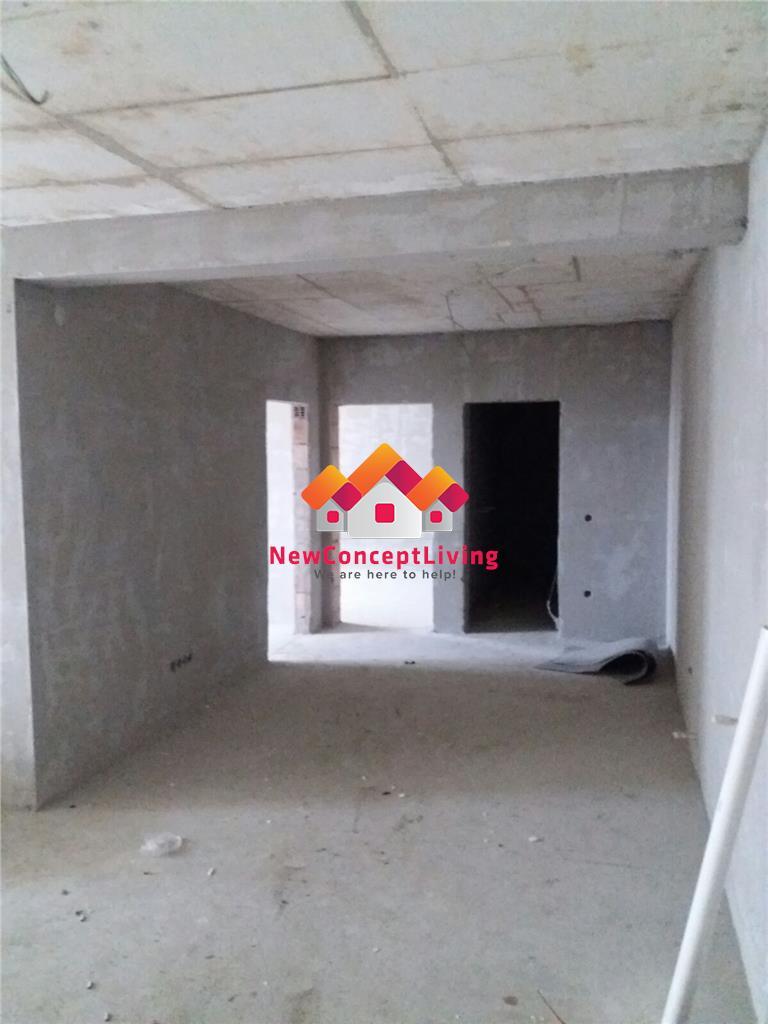 Apartament de vanzare in Sibiu-3 camere-64.81 mp-zona Piata Rahova